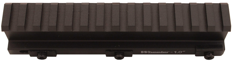 "Wheeler Delta Series Picatinny Rail Riser 1"", Black Md: 156504"