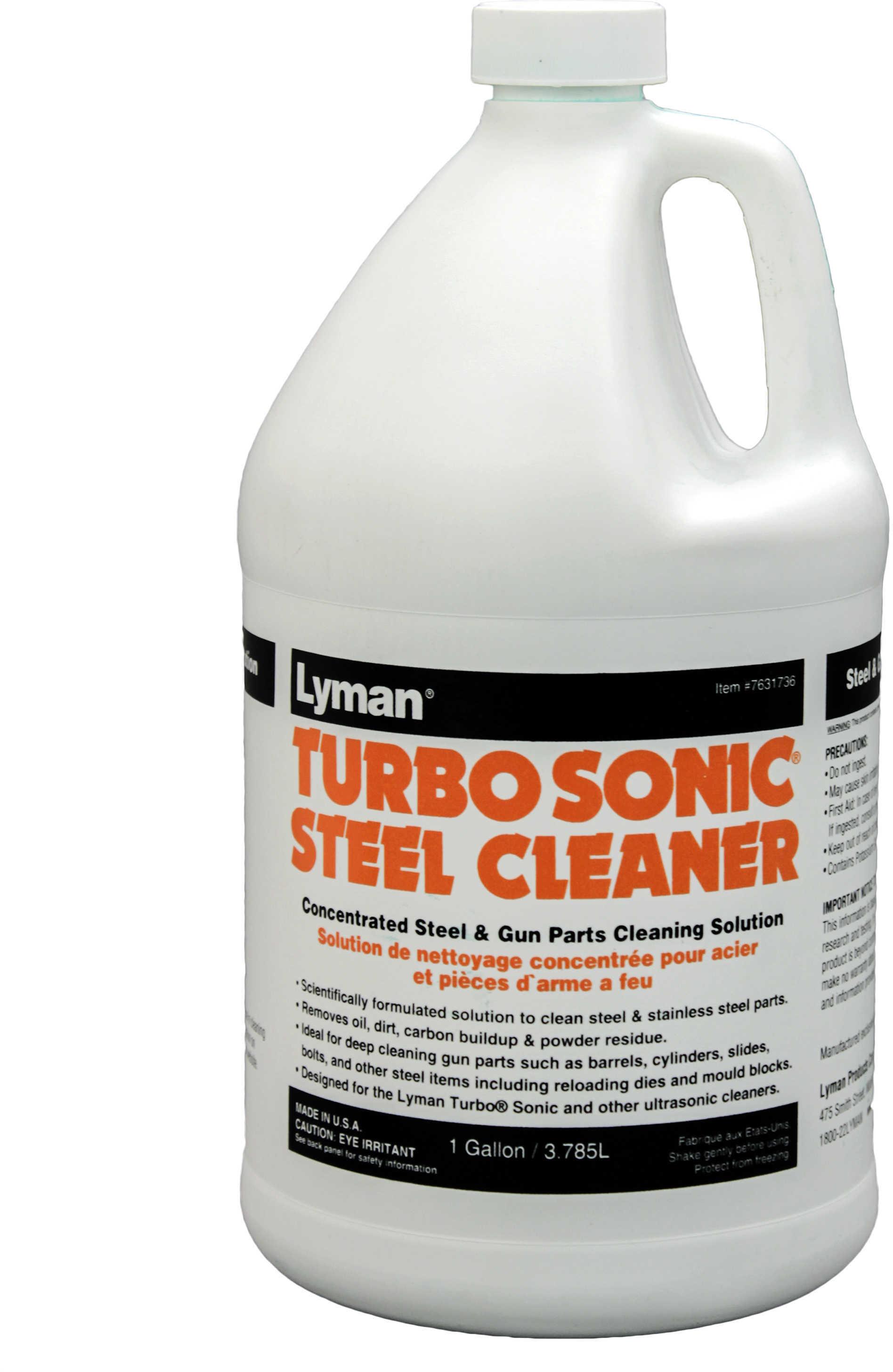 Lyman Turbosonic Steel Cleaner 1 Gallon