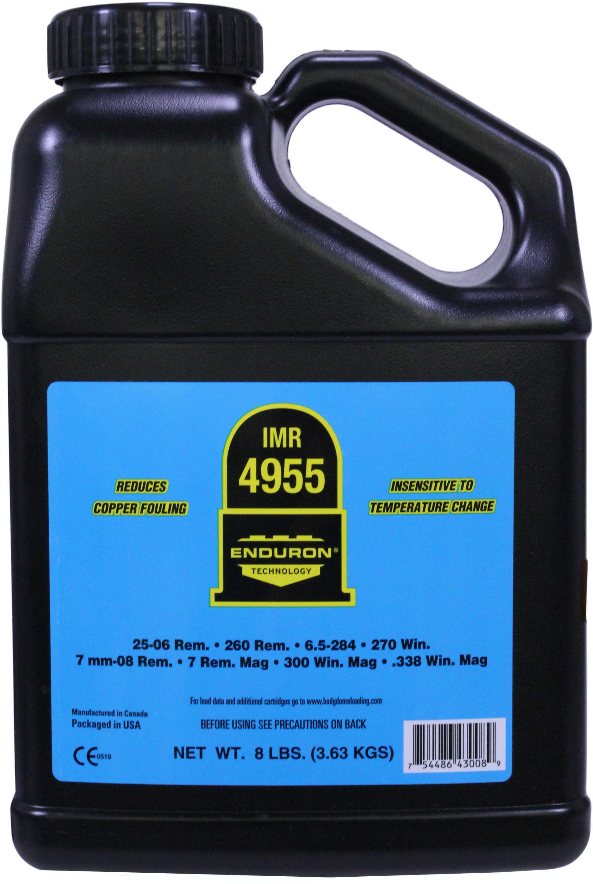 IMR Powder 4955 8Lb Keg