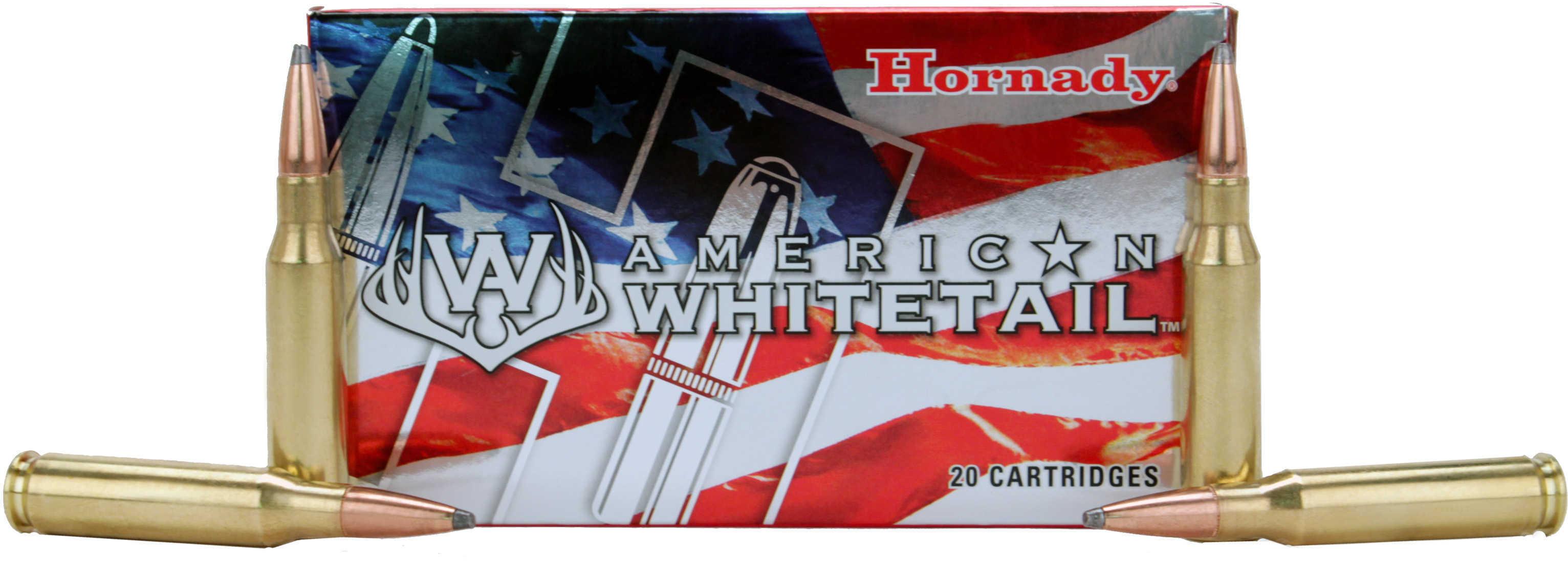Hornady 7mm-08 Remington American Whitetail 139  Grain Soft Point InterLock 20 Rounds