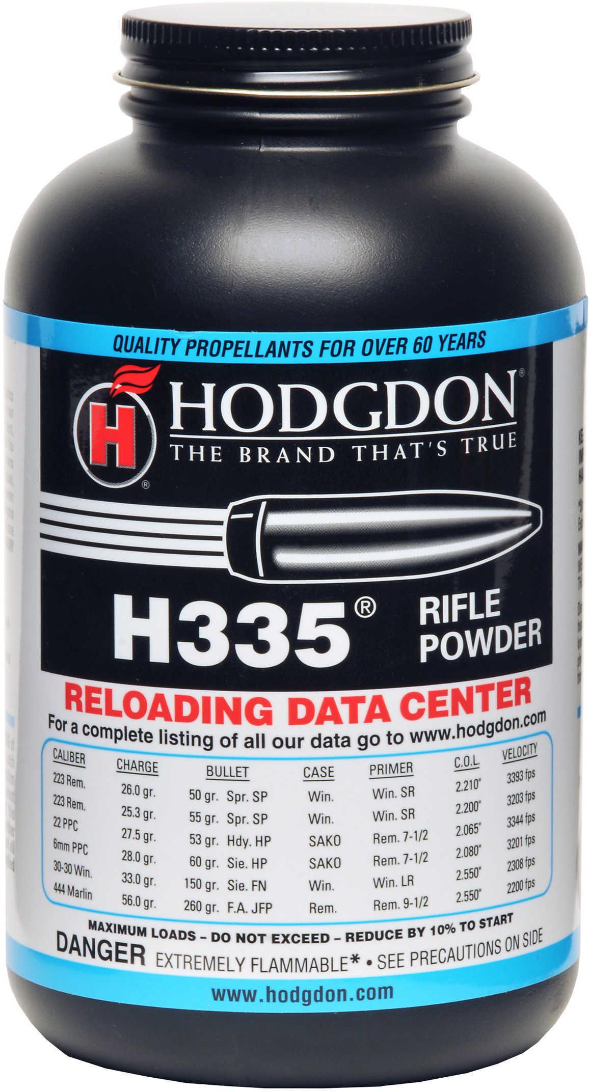 Hodgdon Powder H335 Smokeless 1 Lb