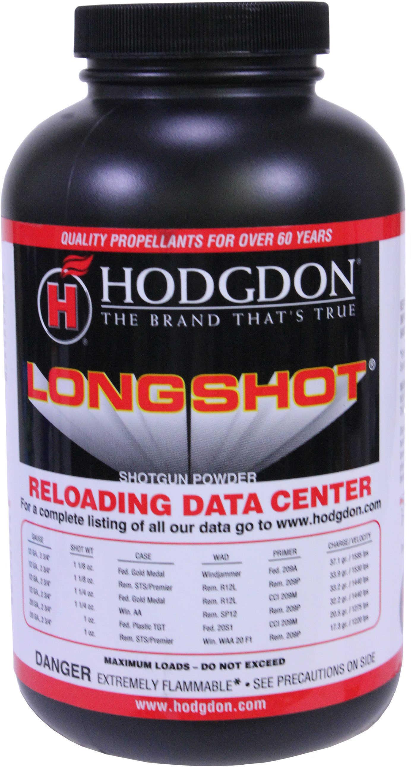 Hodgdon Powder Long Shot 1Lb Smokeless