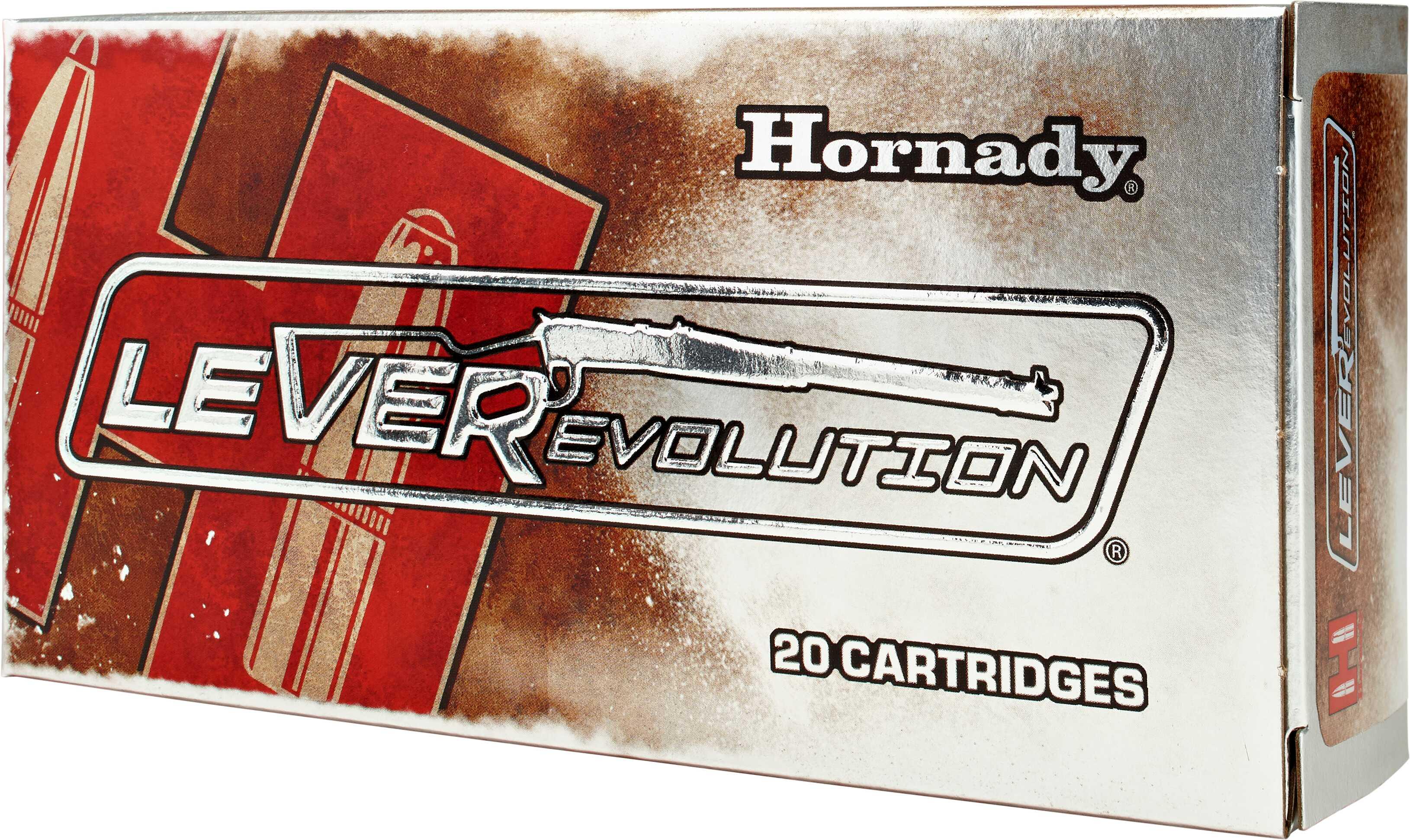 35 Remington By Hornady 200 Grain Leverevolution Per 20 Ammunition Md: 82735