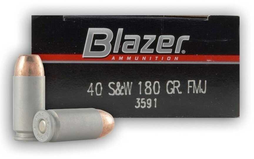 40 Smith & Wesson By CCI 40 S&W 180 Grain TMJ FN Per 50 Ammunition Md: 3591