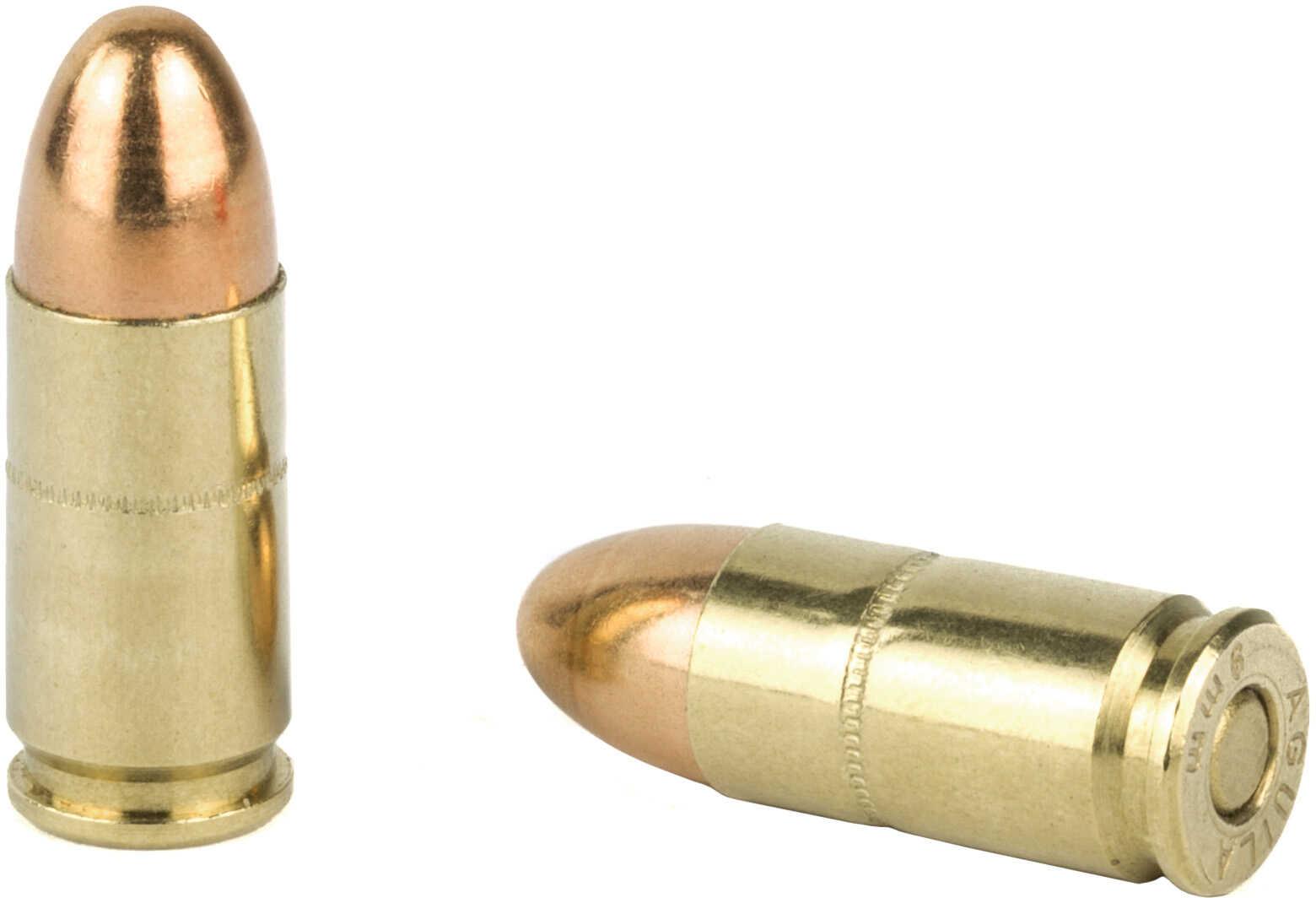 9mm Luger 124 Grain Full Metal Jacket Aguila 50 Rounds Ammunition