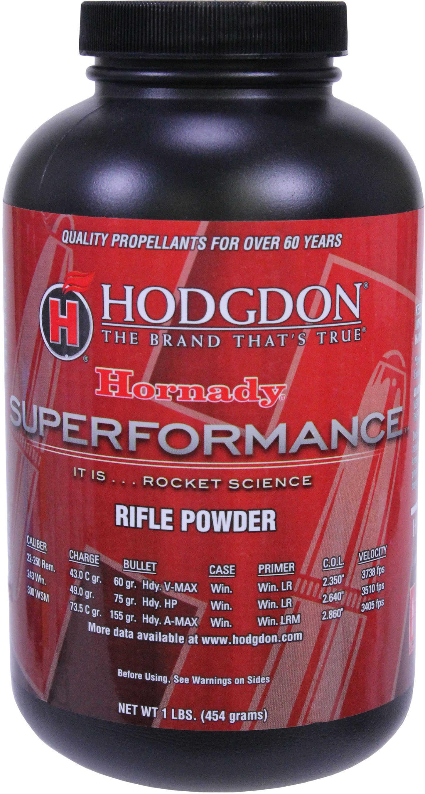 Hodgdon Powder Superformance 1Lb