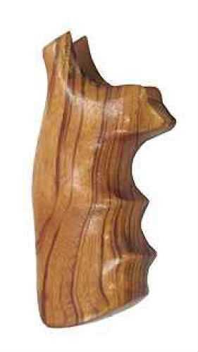Hogue Wood Grip - Goncalo Alves S&W J Frame Square Butt Md: 63200
