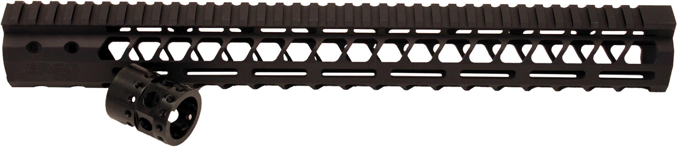 "Ergo Grip Superlite Modular M-LOK Rail Fits AR/M4 15"" Black Finish 4820-15"