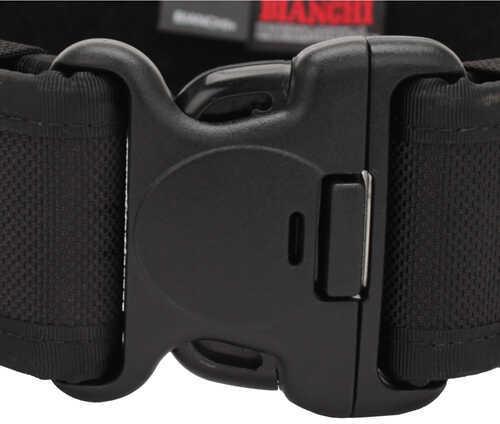 "Bianchi Model 7200 Duty Belt 2.25"" 34-40"" Medium Nylon Black Finish 17381"