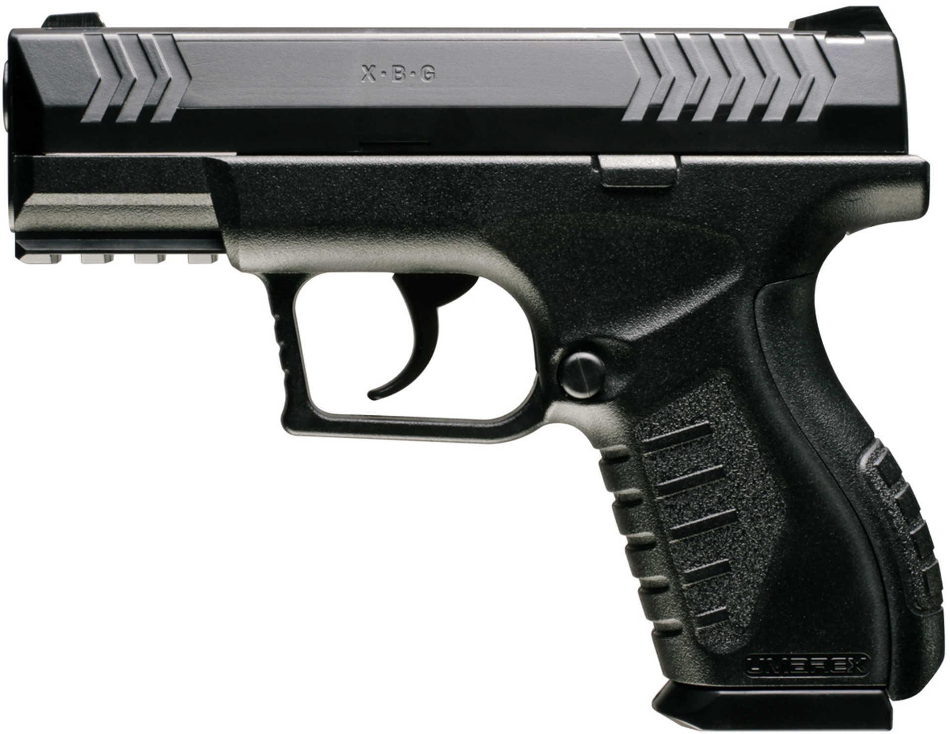 Umarex USA 2254804 Umarex Air Pistol Double 177 BB Black