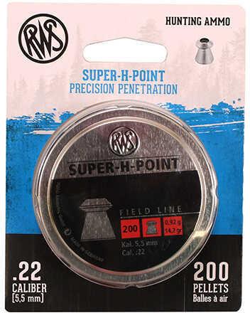RWS 2317382 Super-H Point Pellets 22 Pellet Lead 250