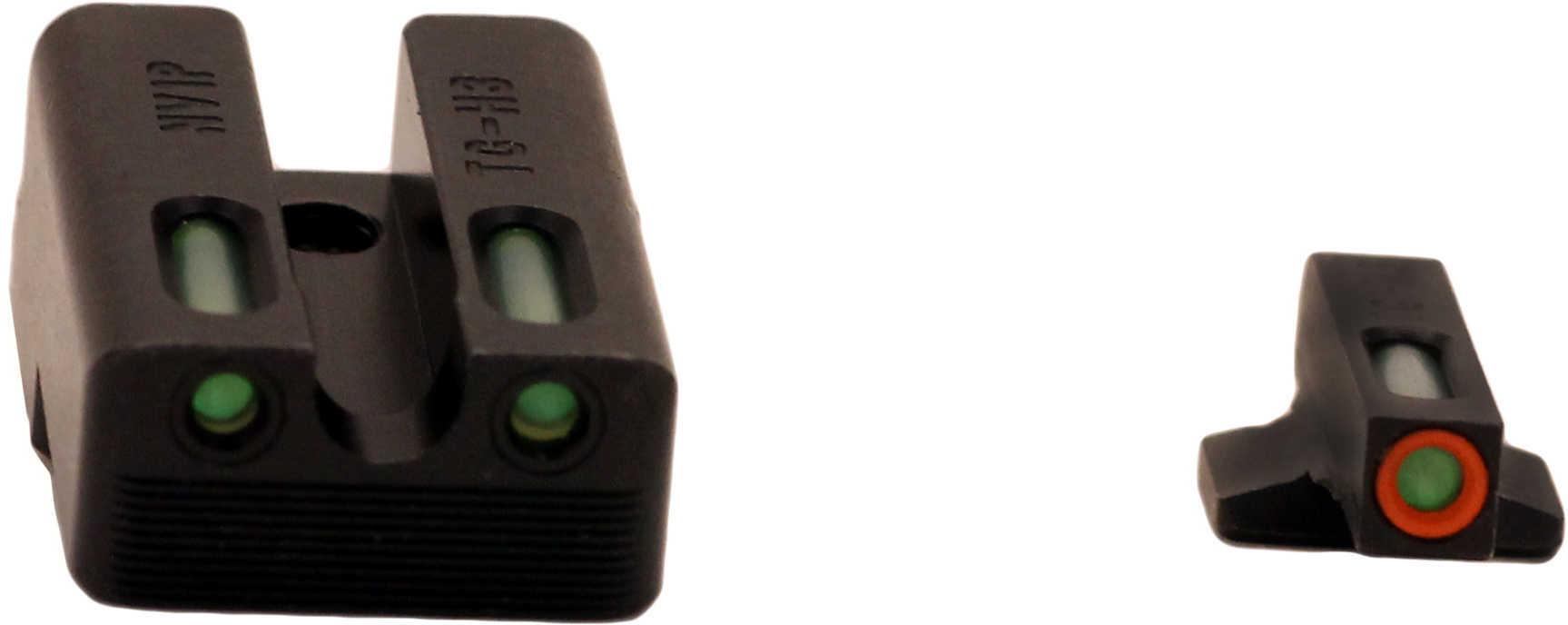 Truglo TG13NV1PC TFX PRO Novak 260/450 Set Green w/Orange Outline Blk