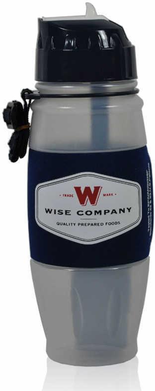 Wise Foods 08006 Seychelle Water Filtration Bottle Bottle Gray/Black