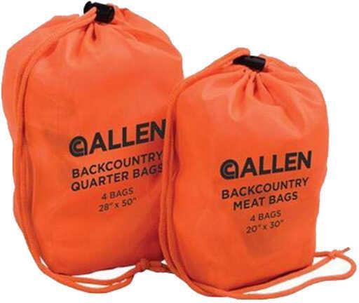 Allen Cases Backcountry Quarter Bags, White, 4 Pack Md: 6544