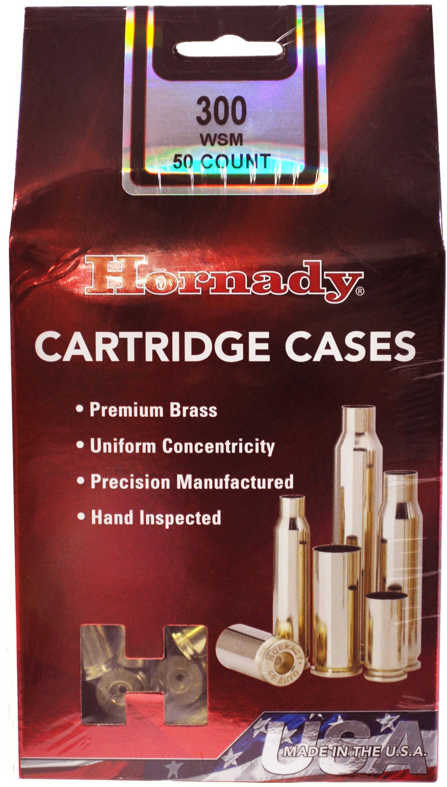 Hornady 86701 Unprimed Cases 300 WSM