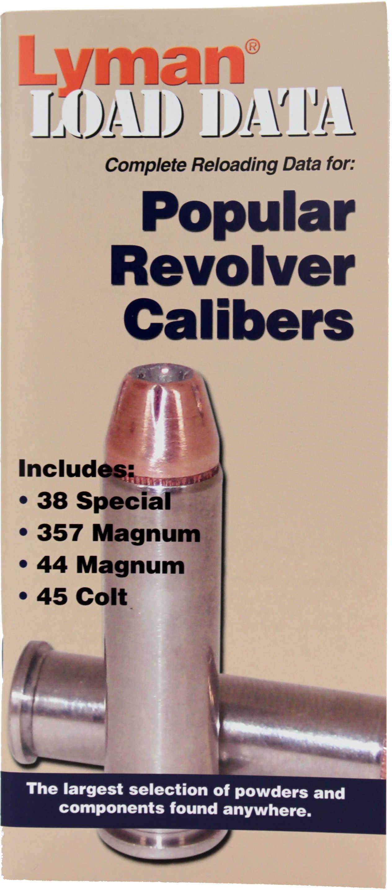 Lyman Popular Revolver Load Data Book
