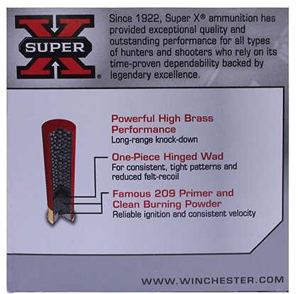 """Winchester Ammo X28H8 Super-X High Brass 28 Gauge 2.75"""" 1 Oz 8 Shot 25 Box"""