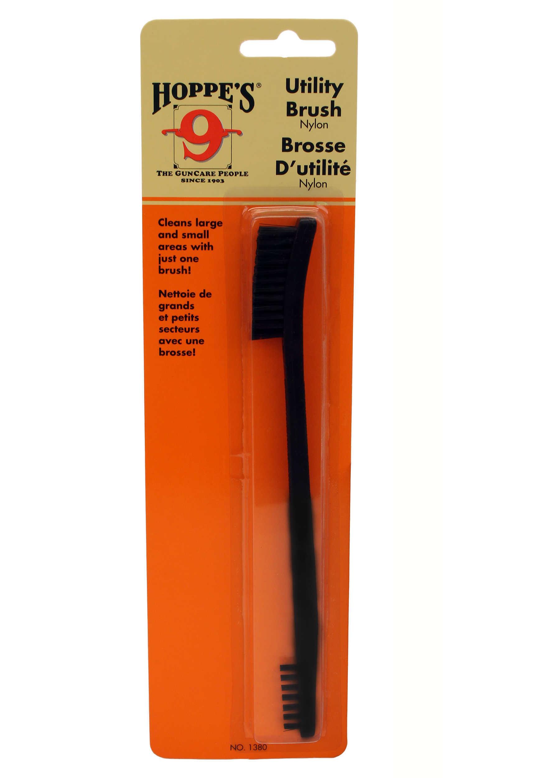 Hoppes Utility Brush Nylon Bristle