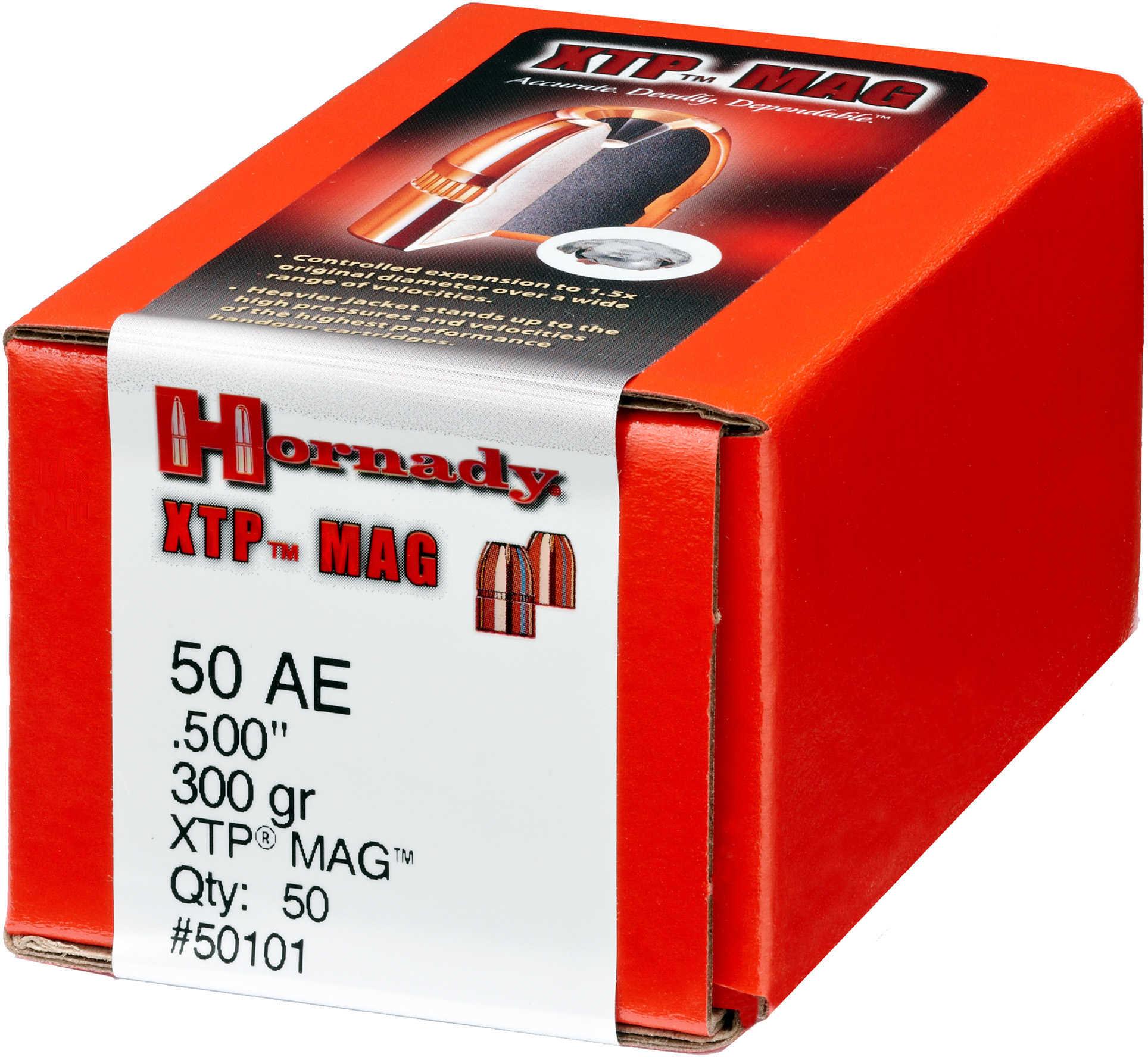Hornady Bullets 50 Caliber .500 300 Grain XTP 50CT