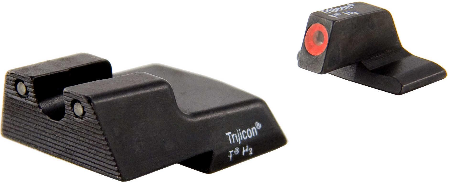 Trijicon HD Night Sight Set Grn/Orange Outline HK P30/Vp9