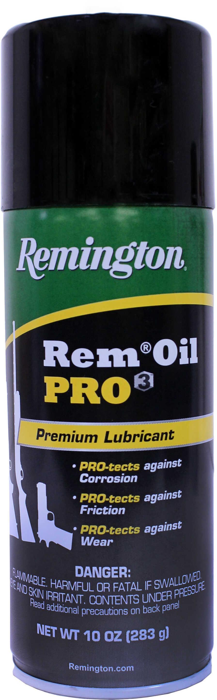 Remington Oil PRO3 Gun Oil Aerosol Can, 10 Ounces Md: 18923