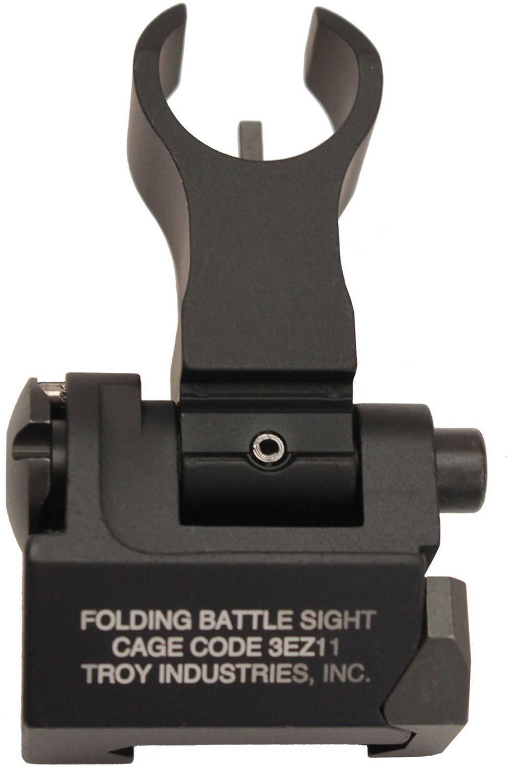 Troy BATTLESIGHT Front Folding HK Style Black