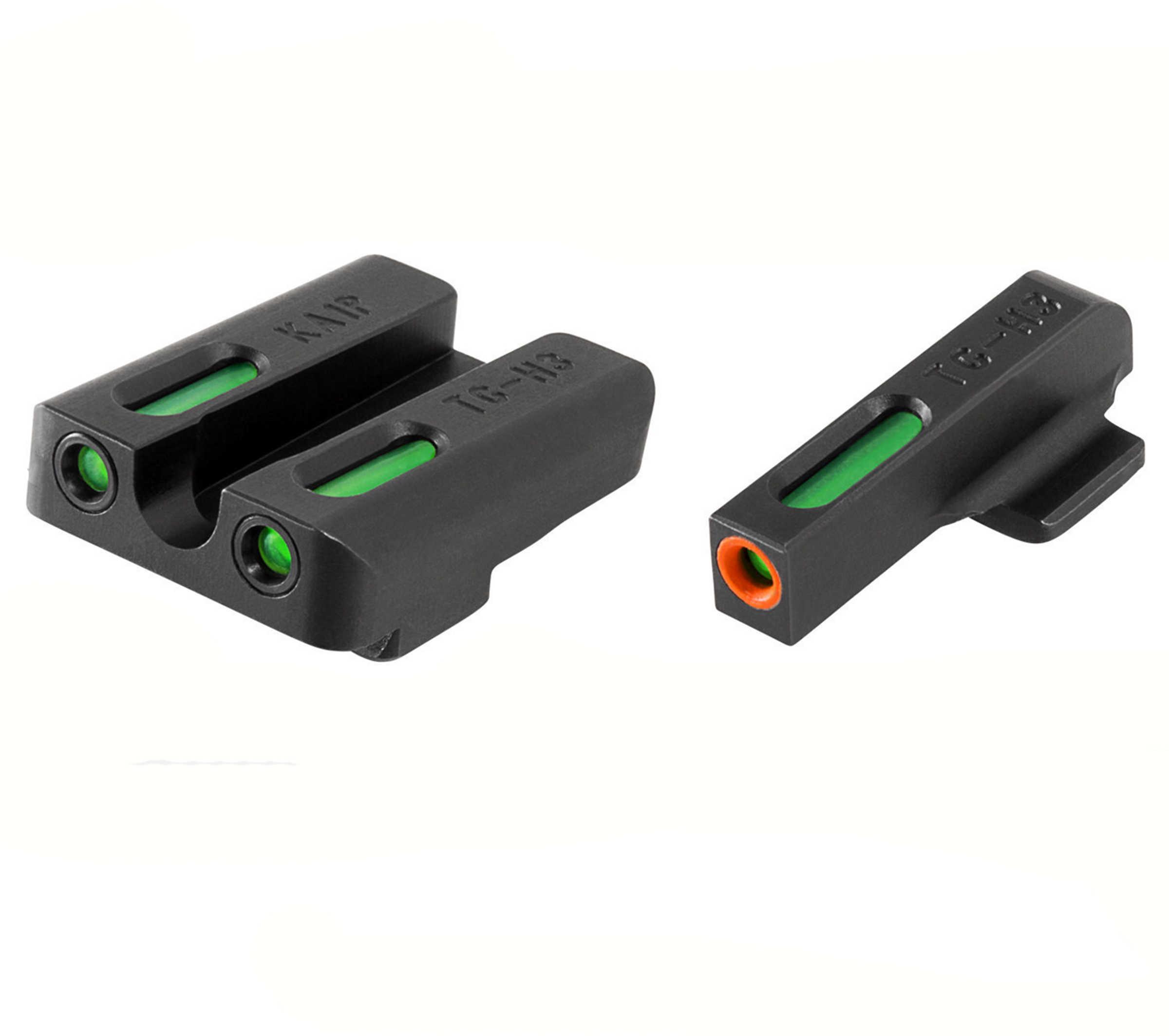 Truglo Sight Set KAHR (Most) TFX Pro Green/Orange Outline