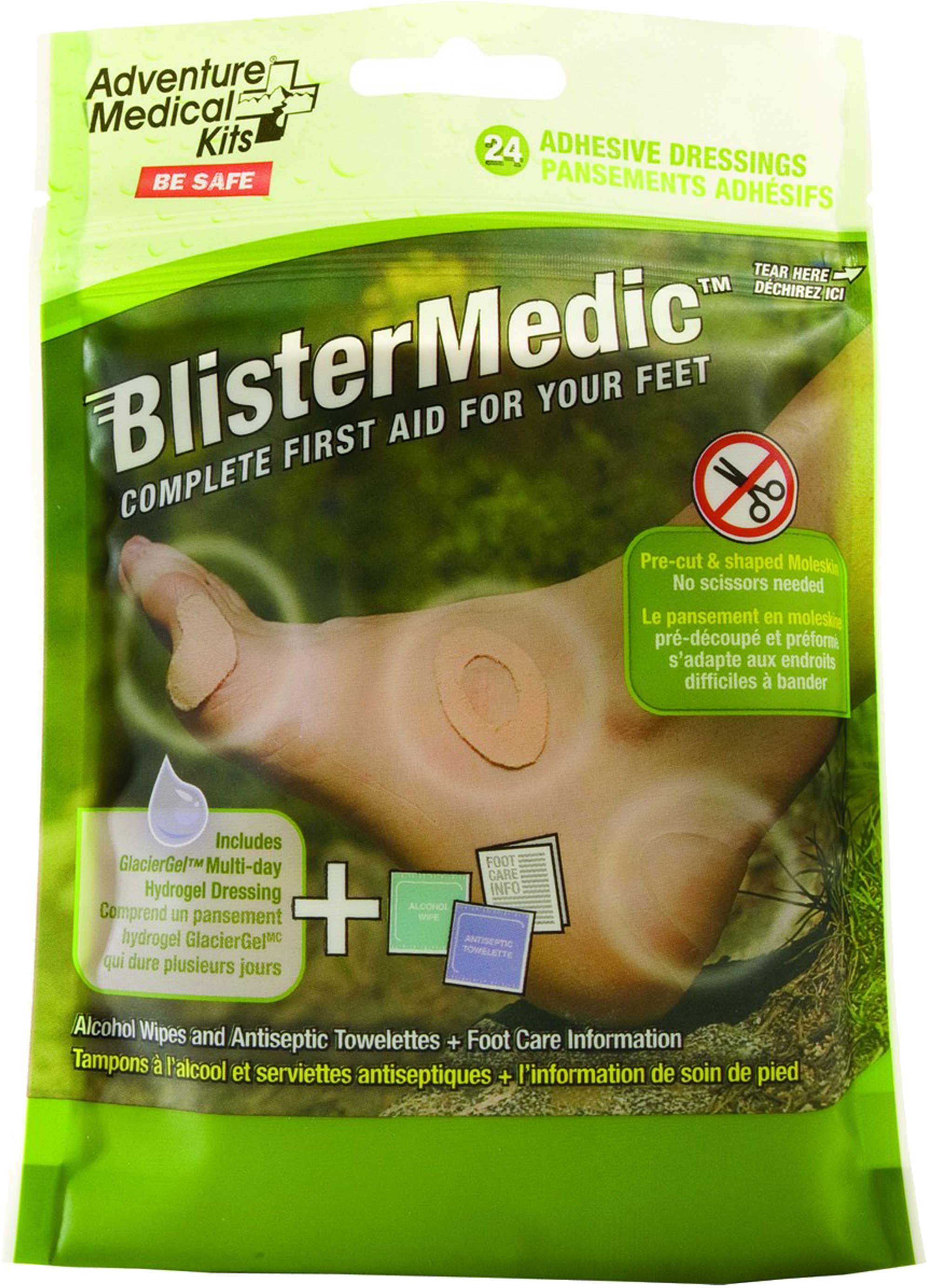 Adventure Medical Kits 01550667 Blister Medic Kit With Glacier Gel