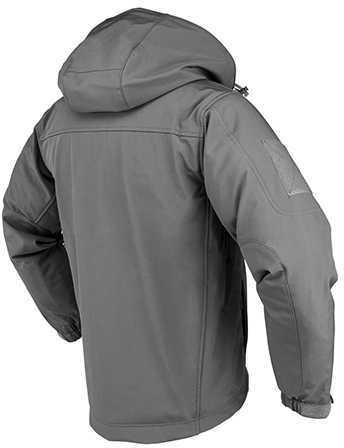 NcStar Trekker Jacket Medium, Urban Gray, Polyester Outside, Micro Fleece Inside Md: CAJ2969UM