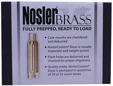 Nosler 10067 Custom Brass 22 Nosler 100