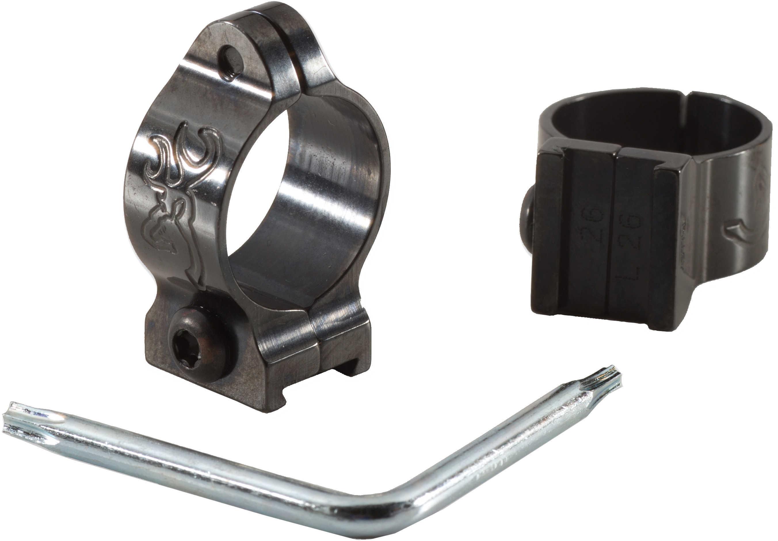 Browning 30mm Rings Intermediat, Gloss Md: 123144