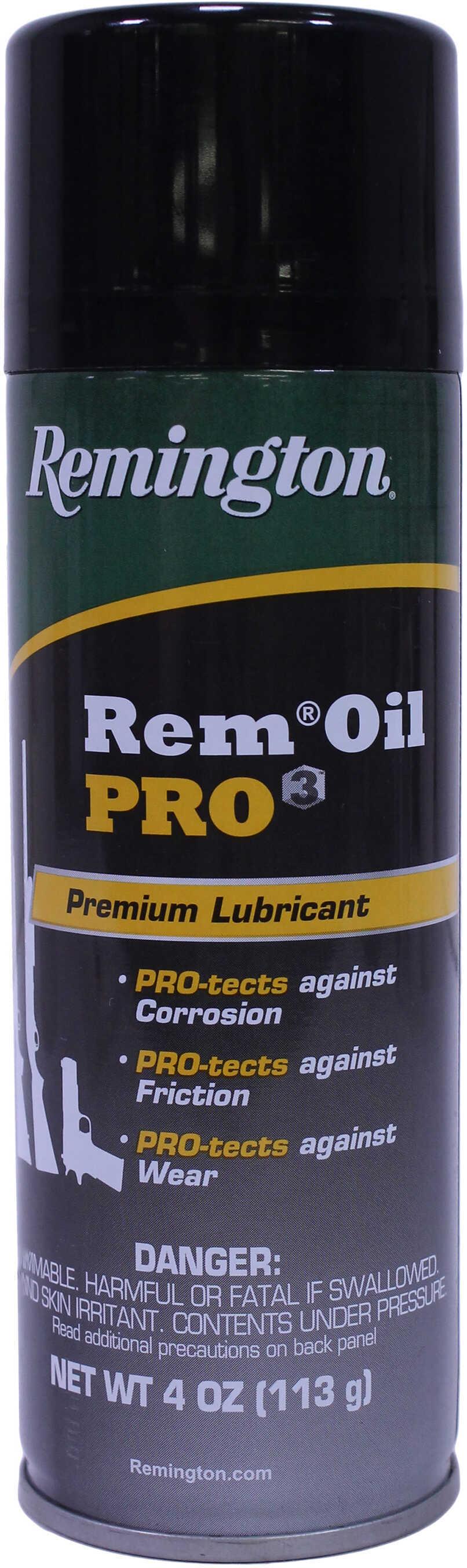 Remington Accessories Remington Oil Pro 3 Premium Lube and Protection, 4 oz Aerosol Md: 18918