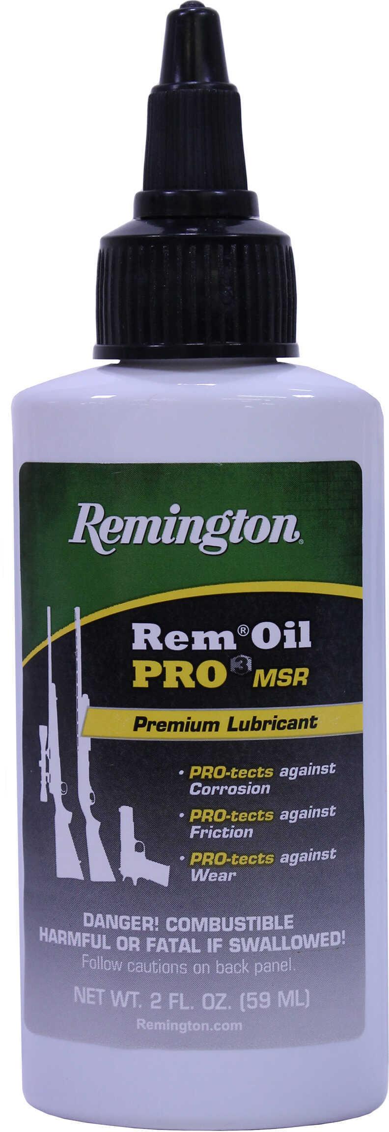 Remington Accessories Pro 3 Oil MSR Premium Lube and Protectant, 2 oz Bottle Md: 18917