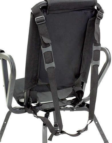 BenchMaster Sniper Seat 360 Shooting Chair Black Steel/Foam
