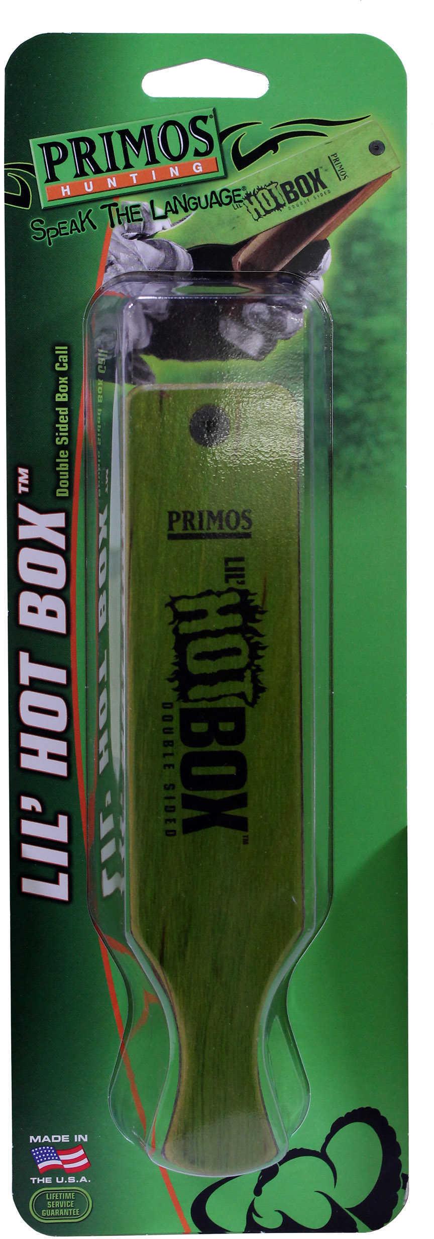 PRIM LIL' HOT BOX MAHOGANY BOXCALL