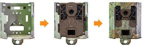 Spypoint SB200 Solar Security Camera Box Camo