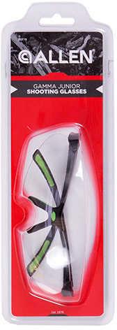 Allen Cases Gamma Junior Shooting Glasses Neon Green Md: 22778