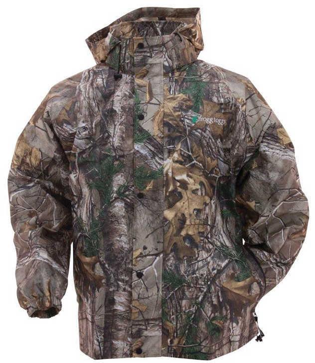 Frogg Toggs Pro Action Jacket Small, Realtree Xtra Md: PA63123-54SM