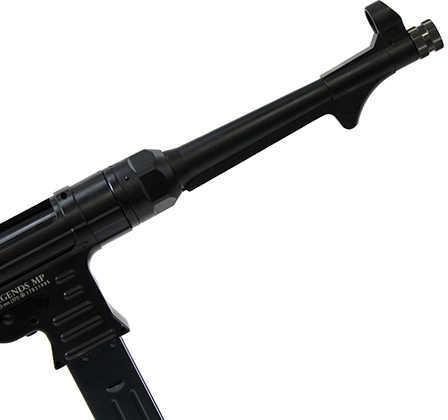 Umarex Legends MP .177 BB 10 inch Barrel 52 Rounds Black