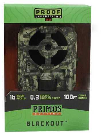 Primos 16MP Proof Cam 03, Camouflage, Black LED Md: 64056