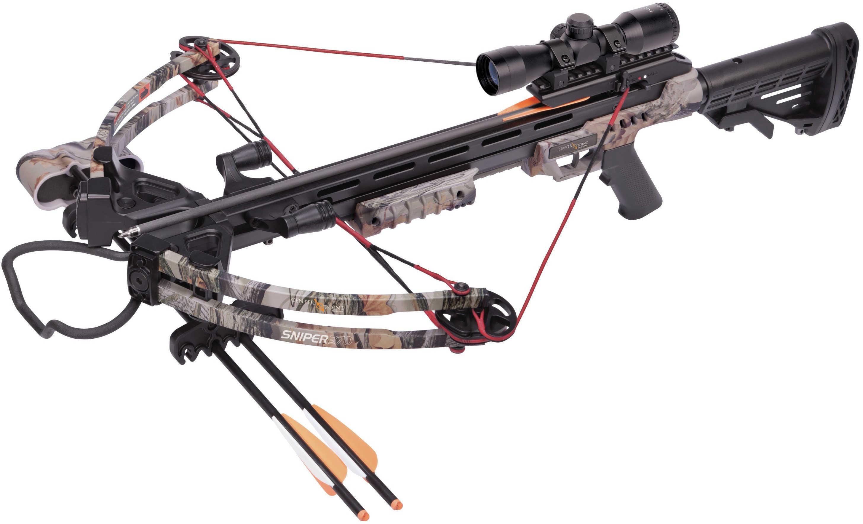 Crosman Sniper 370 Crossbow Package - Camo Md: AXCS185CK