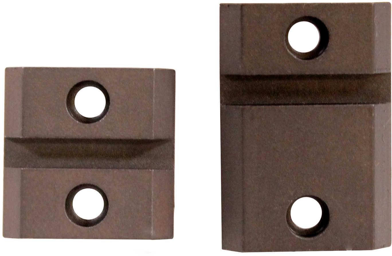 Warne Scope Mounts Maxima 2 Piece Steel Weaver Style Scope Base Ruger® 10/22®, Matte Black Md: M858/918M