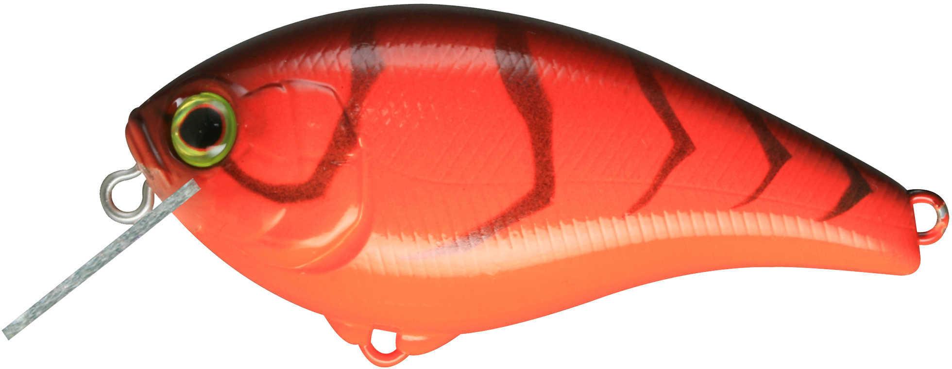 Jackall Lures Aska60 SR Hard Crank Bait Lure 2.5-Inch Body Length, 4' Depth, 3/8 oz, Crawfish, Per 1 Md: JASK60SR-CRA