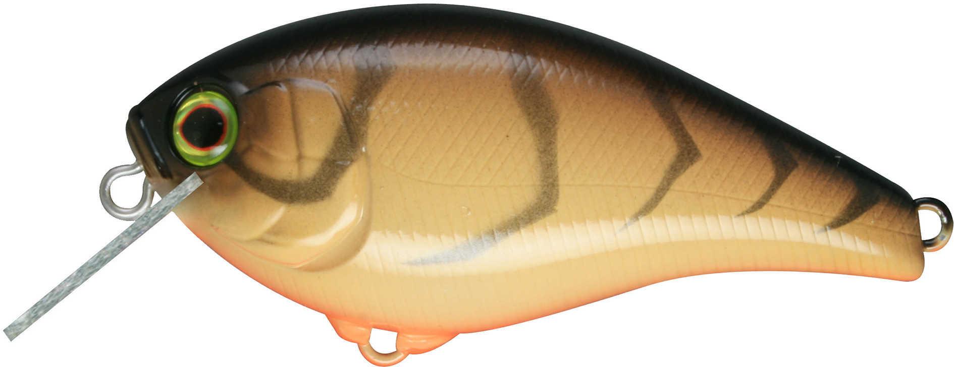 "Jackall Lures Aska60 SR Hard Crank Bait Lure 2 1/2"" Body Length, 4' Depth, 3/8 oz, Super Crawfish, Per 1 Md: JASK60SR-SC"