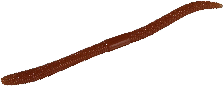 "Jackall Lures Flick Shake Soft Worm Lure 5.80"" Body Length, Cinnamon Solid, Per 7 Md: JFLSK58-CIN"