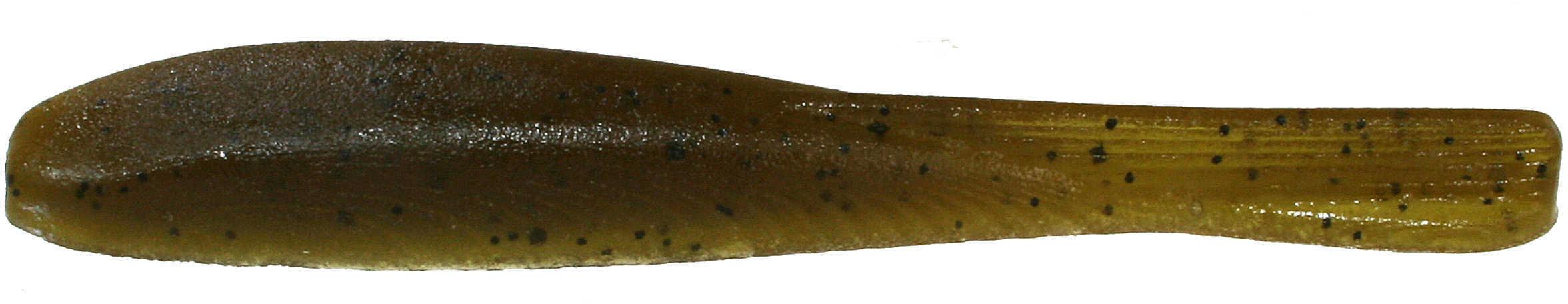"Jackall Lures Cross Tail Shad Soft Drop Shot Bait Lure 3"" Body Length, Green Pumpkin Pepper, Per 8 Md: JCTS3-GPP"