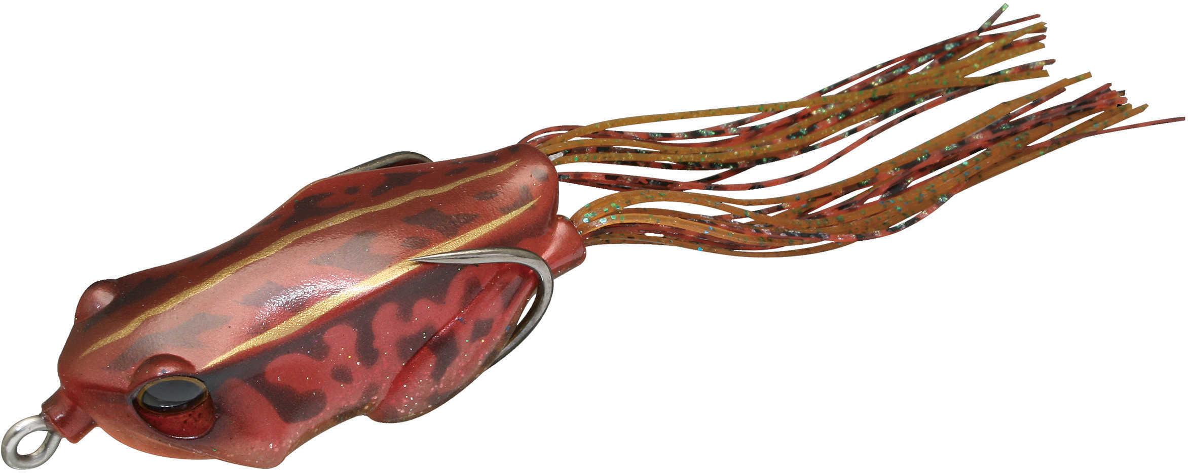 "Jackall Lures Kaera Hard Bait Lure 2.20"" Body Length, 5 oz, Red Frog, Per 1 Md: JKAERA-RF"