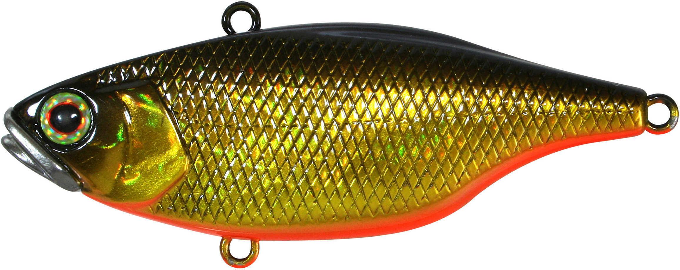 "Jackall Lures TN Lipless Crank Hard Bait Lure Model 60, 2.40"" Body Length, 4/9 oz HI Black and Gold, Per 1 Md: JTN60-HLB"