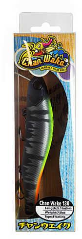 "Jackall Lures Chan Wake 130 Soft Bait Lure 5.12"" Body Length, .85 oz, Matte Jungle Black, Per 1 Md: JCHAN130-MJBLK"