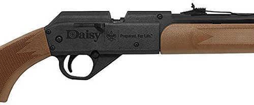 Daisy Boy Scout Pump .177 Pellet/BB Air Rifle, Brown Synthetic Stock Md: BSAK1910603